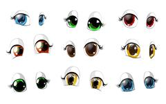 Stock Illustration of the eyes