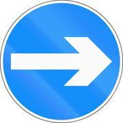 Turn Right in Bangladesh Stock Illustration