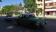 Old Car in Havana, Cuba Stock Footage