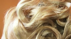 Blond Curls - stock footage