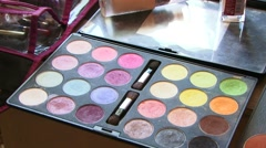 Beauty Palettes Stock Footage