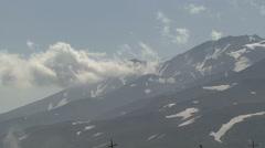 Mutnovsky volcano. Stock Footage