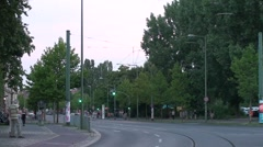 Traffic at prenzlauer berg Stock Footage