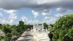 Christopher Columbus Cemetery in Havana, Cuba Stock Footage