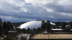 NAU Walkup Skydome Stadium Stock Footage