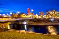 Kansas City Christmas Stock Photos