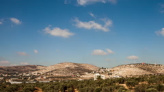 Palestine Hills Time-lapse 2 - stock footage