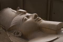 The Colossal Statue of Ramesses II Stock Photos