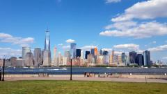 Downtown New York City Time lapse 4K Stock Footage