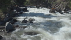 River in yellowstone park 5b Stock Footage