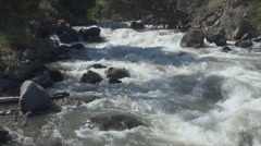 River in yellowstone park 5 - stock footage