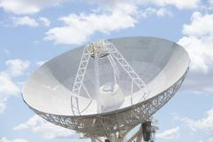 Telescope dish for astronomical science Stock Photos