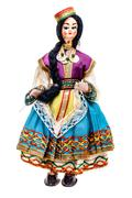 Gypsy doll - stock photo