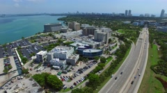 Miami video Mount Sinai Hospital 2 Stock Footage