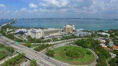 Miami video Mount Sinai Hospital 5 Stock Footage