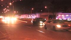 Stock Video Footage of Driving down busy roads in Lima, Peru