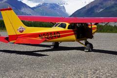 Alaska Flight Seeing Stock Photos