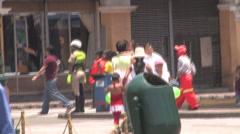 Downtown Historic Lima, Peru - stock footage