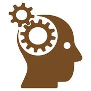 Stock Illustration of Brainstorming icon from Business Bicolor Set