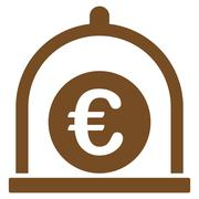 Euro standard icon from Business Bicolor Set - stock illustration
