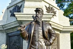 Civil War Soldiers' Monument Brooklyn - stock photo