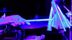 Stock Video Footage of Chimes musical instrument in concert