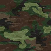 Camouflage seamless pattern - stock illustration