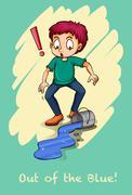 Idiom - stock illustration