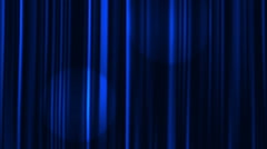 Curtains Open with Spotlights plus Alpha Luma Matte. Stock Footage