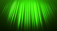 Abstract background with light beams and rising blinking particles. Stock Footage