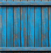 Blue washed wood texture. background old panels - stock photo