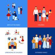 Stock Illustration of Family Design Concept