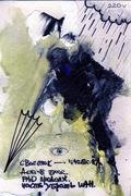 painting acrylic - stock illustration