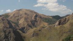 Grassy mountain Stock Footage