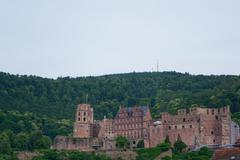 Heidelberg's castle - stock photo