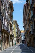 San Anton street - stock photo