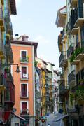 Curia street - stock photo