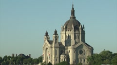 Cathedral of Saint Paul - Extreme Close Stock Footage