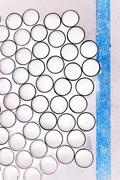 Abstract group of circles for background used Stock Photos