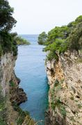 Cliffs by the Sea Stock Photos