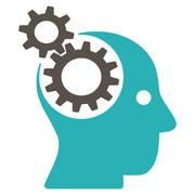 Stock Illustration of Brainstorming icon