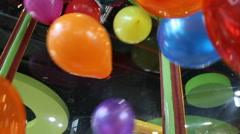 Colorful balloon Stock Footage