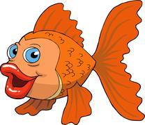 Goldfish - stock illustration
