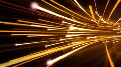 Optical Data Streaks Background - stock footage
