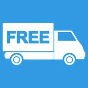 Free shipment icon - stock illustration