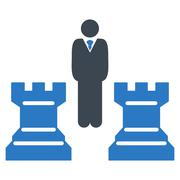 Strategy icon Stock Illustration