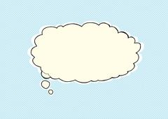 Thought Bubble - stock illustration