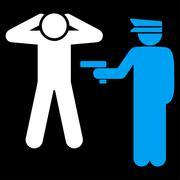Stock Illustration of Arrest icon
