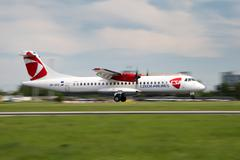 CSA - Czech Airlines Stock Photos