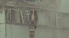 Demolition Machine Stock Footage
